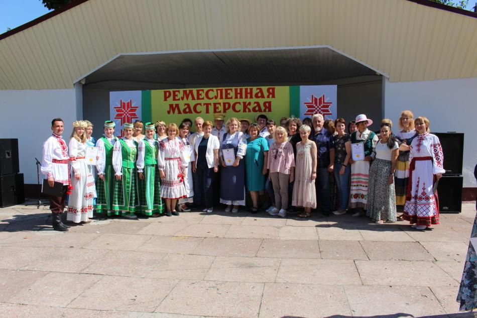 II-й региональный фестиваль народных промыслов и ремесел «Ремесленная мастерская» в г.п. Краснополье