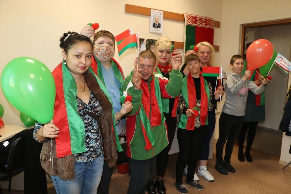 Мастер-класс в Дрибинской школе шаповалов
